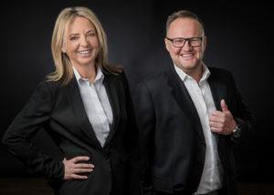 Managing Partner Tilla Klinke und Michael Grubbert